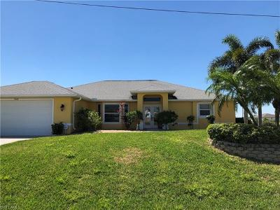 Cape Coral Single Family Home For Sale: 3240 NW 14th Ter
