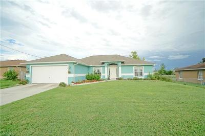 Cape Coral Single Family Home For Sale: 105 NW 18th Pl