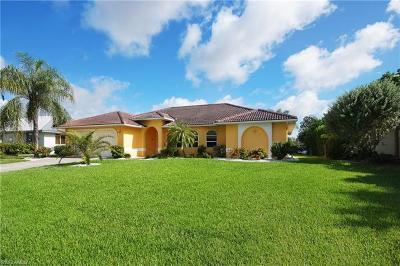 Cape Coral Single Family Home For Sale: 1149 SE 28th Ter