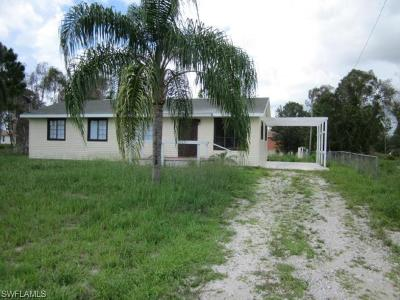 Lehigh Acres Single Family Home For Sale: 3605 40th St SW