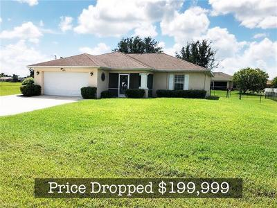 Cape Coral Single Family Home For Sale: 2020 NW Embers Ter