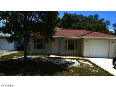 Fort Myers Single Family Home For Sale: 4313 Ballard Rd