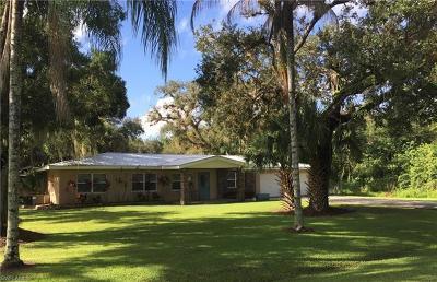 Labelle Single Family Home For Sale: 471 E Ft. Thompson Ave