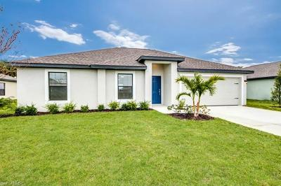Fort Myers Single Family Home For Sale: 121 Blackstone Dr