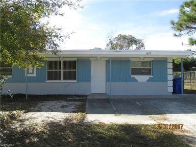 Fort Myers Single Family Home For Sale: 1422 Brookhill Dr