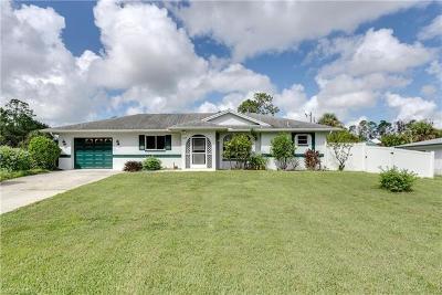 Lehigh Acres Single Family Home For Sale: 427 Hamilton Ave