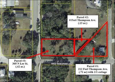 Residential Lots & Land For Sale: 212 Fort Thompson Ave
