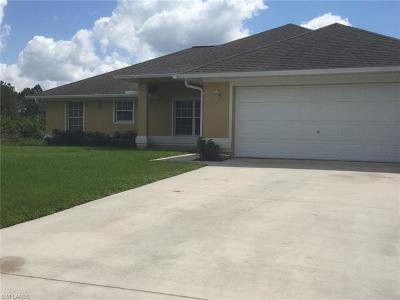 Lehigh Acres Single Family Home For Sale: 2813 6th St SW