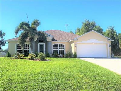 Cape Coral Single Family Home For Sale: 3424 SW 17th Pl