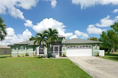 Cape Coral Single Family Home For Sale: 217 SW 39th Ter