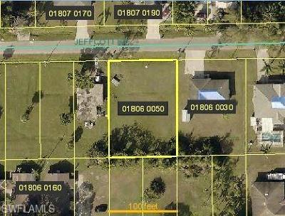 Fort Myers Residential Lots & Land For Sale: 3232 Jeffcott St