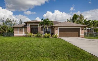 Cape Coral Single Family Home For Sale: 1503 Old Burnt Store Rd N