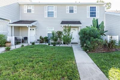 Fort Myers Condo/Townhouse For Sale: 6137 Lake Front Dr