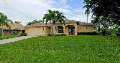 Cape Coral Single Family Home For Sale: 4111 SW 26th Pl
