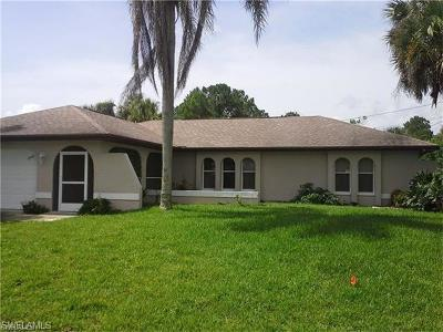 Lehigh Acres Single Family Home For Sale: 2904 E 6th St
