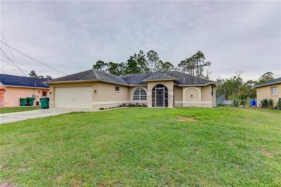 Naples FL Single Family Home For Sale: $255,000