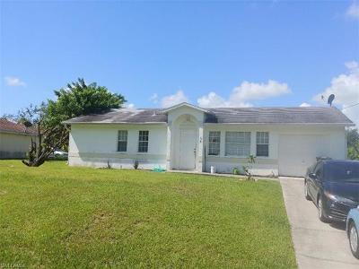 Lehigh Acres Single Family Home For Sale: 134 Aurora Ave S