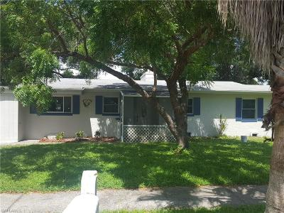 Fort Myers Single Family Home For Sale: 1839 Jefferson Ave