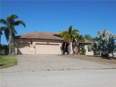 Cape Coral Single Family Home For Sale: 4108 SW 19th Pl