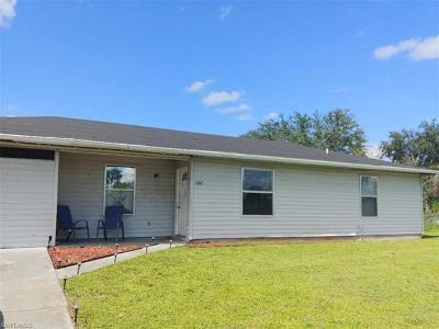 Lehigh Acres Single Family Home For Sale: 1007 Joel Blvd