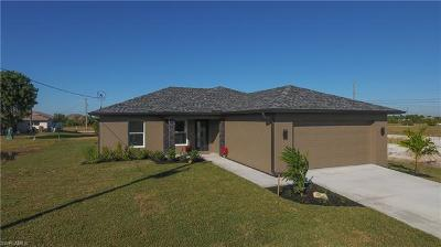 Cape Coral FL Single Family Home For Sale: $223,500
