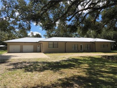 Alva Single Family Home For Sale: 23730 Palm Beach Blvd