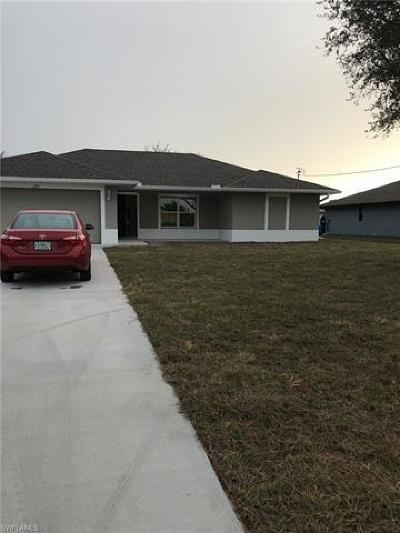 Lee County Single Family Home For Sale