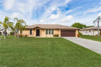 Cape Coral Single Family Home For Sale: 1419 SE 18th Ter