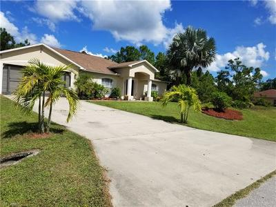 Lehigh Acres Single Family Home For Sale: 711 Epps Brown St E
