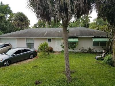 Fort Myers Single Family Home For Sale: 4474 E Riverside Dr