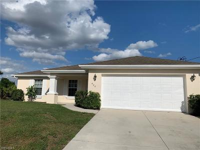 Lehigh Acres Single Family Home Pending With Contingencies: 429 Lillon Ave S