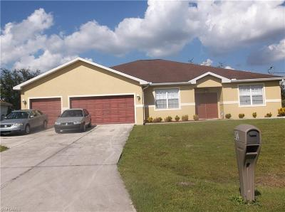 Lehigh Acres Single Family Home For Sale: 412 Muriel St