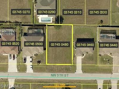 Cape Coral Residential Lots & Land For Sale: 2207 NW 5th St