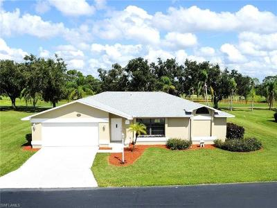 Lehigh Acres Single Family Home For Sale: 19983 Lake Vista Cir