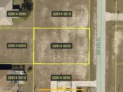 Cape Coral Residential Lots & Land For Sale: 1604 NW 8th Pl