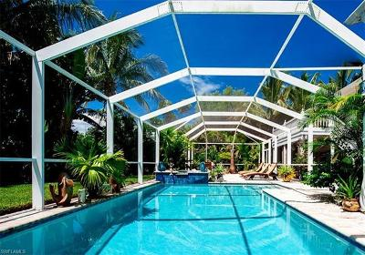 Sanibel Single Family Home For Sale: 1278 Sand Castle Rd