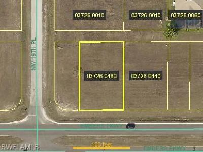 Cape Coral Residential Lots & Land For Sale: 1831 Embers Pky W