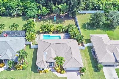 Cape Coral Single Family Home For Sale: 3627 SW 21st Pl