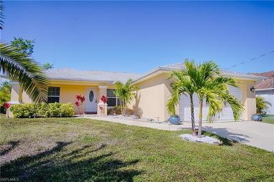 Cape Coral FL Single Family Home For Sale: $335,000