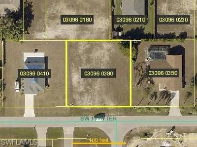 Cape Coral Residential Lots & Land For Sale: 305 SW 19th Ter