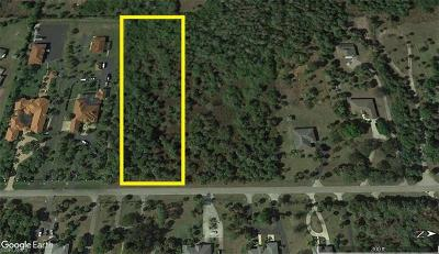 Collier County Residential Lots & Land For Sale: 17th St. NW
