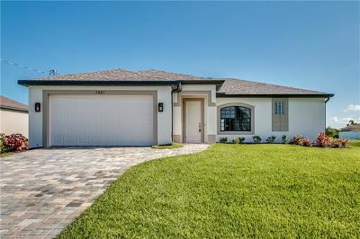 Cape Coral FL Single Family Home For Sale: $225,900
