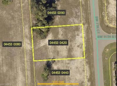 Cape Coral Residential Lots & Land For Sale: 1028 SW 7th Ct