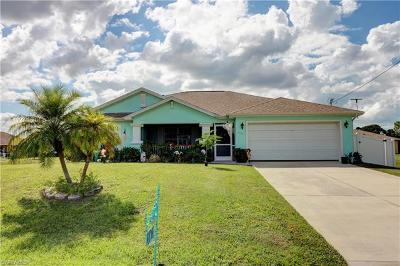 Cape Coral Single Family Home For Sale: 4124 NE 21st Ave