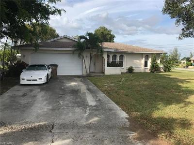 Cape Coral Single Family Home For Sale: 201 SW 32nd Ter