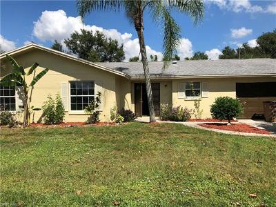 Lehigh Acres FL Single Family Home For Sale: $170,000