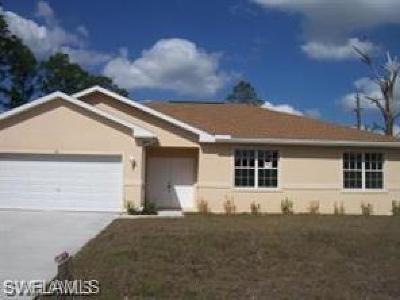Lehigh Acres FL Single Family Home For Sale: $135,000