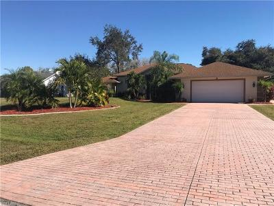 North Fort Myers Single Family Home For Sale: 15520 Paper Tree Ct