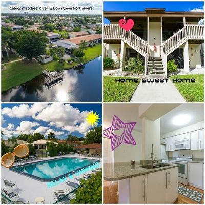 Fort Myers Condo/Townhouse For Sale: 9380 Lennex Ln #714