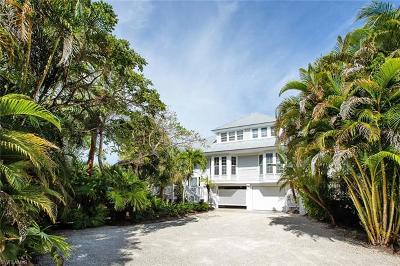 Sanibel FL Single Family Home For Sale: $1,299,000